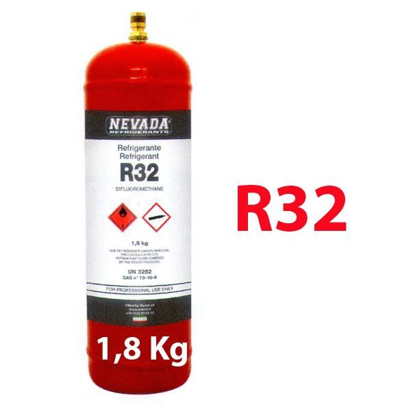r32 daikin panasonic gas refrigerante 2 kg botella