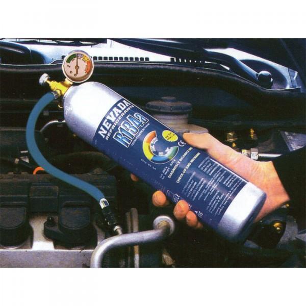 R134a R134 Gas Refrigerante Kit De Recarga De 1 Kg Con