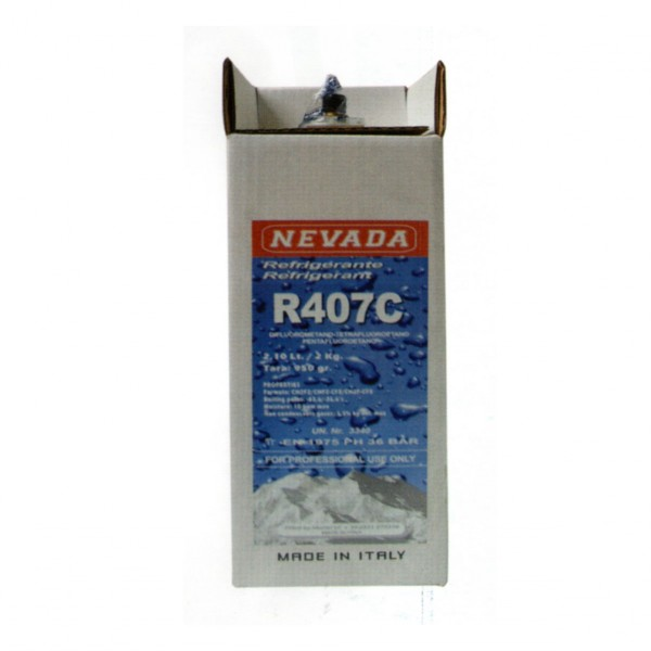 R407c R407 refrigerant gas 2 Kg refillable cylinder discount price