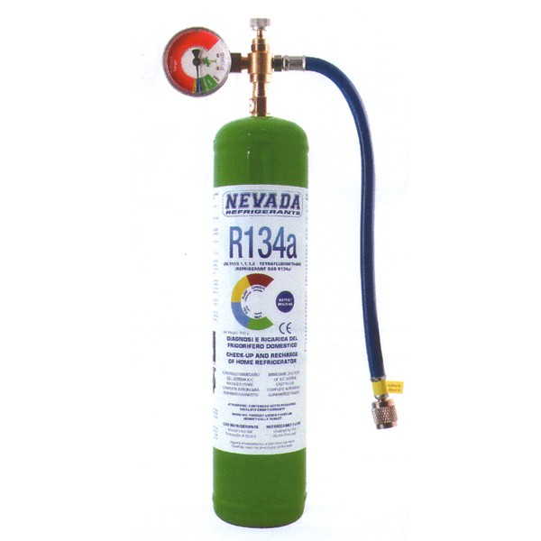 Kg R134a REFRIGERANT GAS DO-IT-YOURSELF REFRIGERATOR RECHARGE KIT